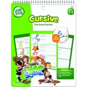 * SmartDudes LeapFrog Activity Book, Cursive, Dry Erase, 16 Pages *