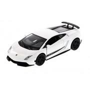 "Showcasts Lamborghini Gallardo LP570-4 Superleggera, White - 555998M 5"" Collectible Model Toy Car"