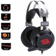 REDRAGON Audifonos Gamer SIREN 2 360 Mic Vibracion Y Backlight 3 Colores