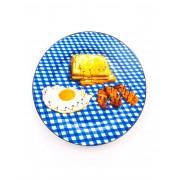 ユニセックス SELETTI WEARS TOILETPAPER Breakfast オーナメンタルプレート ブライトブルー