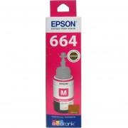 Botella Tinta Epson T664320 Original C13T66432A Para L110 L120 L200 L210 L300 L350 L355 L455 L555 L1300 De Color-Magenta