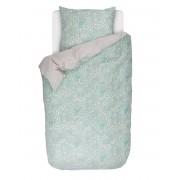 Esprit Obrázkové povlečení, bavlněné povlečení na postel, povlečení na jednolůžko, turkusová barva, pastelová barva, floristický styl, Espirit, 140 x 220 cm…