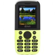 ZOVO ZO1898 DUAL SIM AUTO CALL RECORDER 2000 MAH BATTERY FM BLUETOOTH MULTI LANGUAGE MOBILE PHONE IN GREEN COLOR