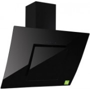 J3 Technology Carnetto 2010 Black 60cm Wall and Ceiling Mounted Chimney(Black 1000 CMH)