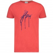 Blue Industry t-shirts kbis19-M78 in het Rood
