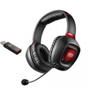 Слушалки Creative SB Tactic 3D Rage Wireless, безжични, микрофон, черно/червени