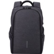 Kaka Anti-theft Travel Bag TSA Lock Large Capacity With USB Charging Point Compatible for 15.6 Laptop Backpack(Black)