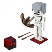 Schelet Minecraft BigFig cu cub de magma
