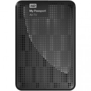 WD My Passport AV-TV - HDD extern, USB 3.0, 1TB, Negru