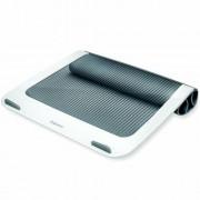 Laptoptartó, FELLOWES, I-Spire Series™, fehér-grafitszürke (IFW93812)