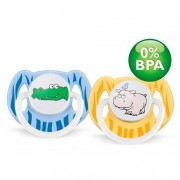 Philips Avent - Pack 2 Chupetes Decorados 6-18M Sin BPA - SCF172/22