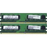 Memorie Desktop DDR2 2x512MB (1GB) Frecventa 533 MHz Diverse Firme