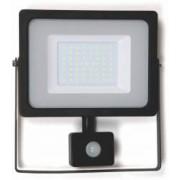 Proiector cu LED SMD cu senzor 50W 4000lm IP65 4000K Well