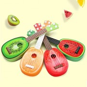 HATCHMATIC Baby Kids Children Toys Design Children Learn Guitar Ukulele Mini Fruit Can Play Musical Instruments Toys for Baby j2: B