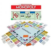 TEENA'S Winning Moves Games Monopoly Board Game for Kids
