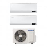 Samsung Climatizzatore Cebu Wi-Fi Dual Split 12000+12000 Btu Inverter A+++ In R32 Aj050txj2kg