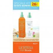Lichtena Sole Bimbi Kit Speciale Estate, spray solare 50+ 200ml più doposole 175ml