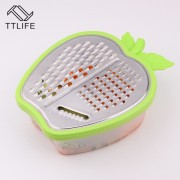 TTLIFE Rvs Keuken Rasp Plantaardige Slicer Wortel Rasp Aardappel Cutter Vruchten Plantaardige Slicer Machine MyXL