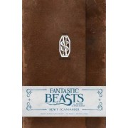 Fantastic Beasts and Where to Find Them: Newt Scamander Hardcover Ruled Journal by Insight Editions