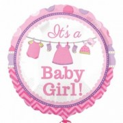 Balon Folie Its a baby girl 45cm