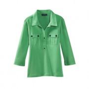 Saint James blouse-shirt, 40 - groen