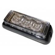 Flash Blitz Auto GALBEN 4 LED-uri cu dual voltaj 12/24V -15 tipuri de flash3