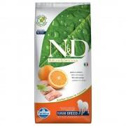 N&D Grain Free Dog Farmina N&D Grain Free Adult Maxi Pesce e Arancia - 12 kg