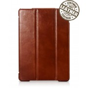 IcareR iPad Air Smart Cover Leer Bruin