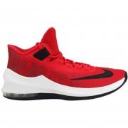 Zapatos Baloncesto Hombre Nike Air Max Infuriate 2 Mid-Rojo