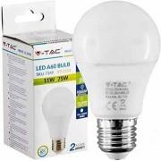 Žarulja LED E27 11W, 2700K, toplo svjetlo, 3 komada, V-tac