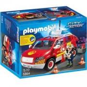 Комплект Плеймобил 5364 - Пожарната кола на директора, Playmobil, 291102