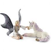 Schleich Landariel with Unicorn foal