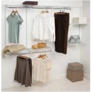 Rubbermaid Configurations Closet Kits, 4-8 ft, White (FG3G5902WHT)
