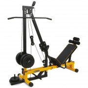 Multi press espalda + prensa quadriceps - multi funcional