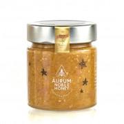 Crema de miere cruda poliflora, migdale rumenite, scortisoara si sare de mare 300g