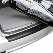 [in.tec]® Ochranná fólia na nárazník / ochrana laku - Škoda Fabia II Combi - karbónová (grafitovo sivá)