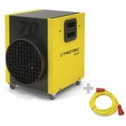 Sanayi Tipi Elektrikli Isıtıcı TEH 70 + Profesyonel Uzatma Kablosu 20 m / 400 V / 6 mm²