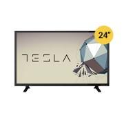 Tesla TV 24S306BH, 24 TV LED, slim DLED, DVB-T2/C/S2, HD Ready