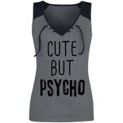 Cute But Psycho Damen-Top S, M, L, XL, XXL Damen