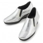 ドルチェ 牛革ウェッジスリッポンシューズ【QVC】40代・50代レディースファッション