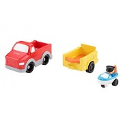 Fisher-Price Little People Wheelies Fishing Boat