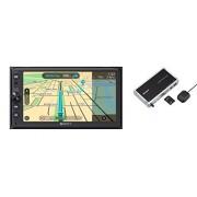 Sony xnv-kit100 xnv-ax100 Premium 16,25 cm navigatie en Media Receiver met Bluetooth, Apple carplay en Android Auto, TomTom Kaarten verlichting Zwart/meerkleurig