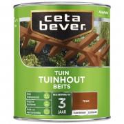 CetaBever Tuinbeits Transparant - 0-75 liter - teak - 085