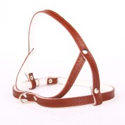 COBBYS PET postroj leather-felt 10mm/55cm