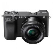 Sony Aparat SONY Alpha ILCE-6400 + E PZ 16 – 50 mm F3,5-5,6 OSS SELP1650 Czarny