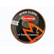 Atún claro en escabeche rojo o salsa catalana 1.8 kg. Olympos