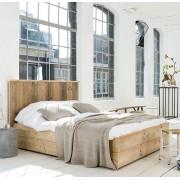 Livengo Steigerhout bed Modern