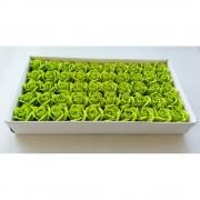 Trandafiri De Sapun 50/set Verde Crud