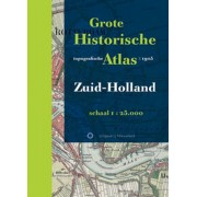 Atlas - Opruiming Grote Historische topografische atlas Zuid-Holland   Nieuwland