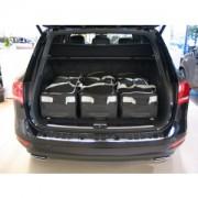Volkswagen Touareg II (7P5) 2010-nuvarande Suv Car-Bags Resväskor